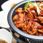 豚プルコギ(辛味)定食