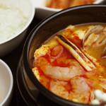 純豆腐(スンドゥブ)定食