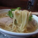 ぼたん - 太麺を選択しました
