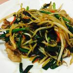 東菜館純ちゃん - 豚肉と野菜炒め