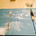 パークサイドダイナー - テーブルセッティング