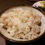 喜助分店 - 麦飯中盛り