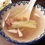 喜助分店 - テールスープ