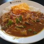 CoCo壱番屋 - 料理写真:チキンと夏野菜カレー プラススクランブルエッグ