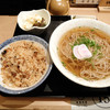喜助うどん - 料理写真:とりめしセット