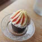TEA HOUSE laCASA - いちじくのショートケーキ☆
