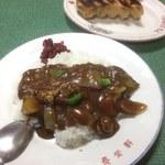 長栄軒 - カレーライス、餃子