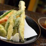 五大 - 野菜盛合せ天婦羅【2015年6月】