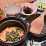 お結びcafe - 焼鯖炊き込みごはん【2015年6月訪問】