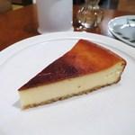 ムトウ コーヒー ロースタリー - チーズケーキ