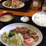 宝勝 - 料理写真:生姜焼き定食770円