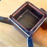 竹やぶ - 蕎麦湯