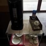 早川 - セルフのコーヒー(無料)