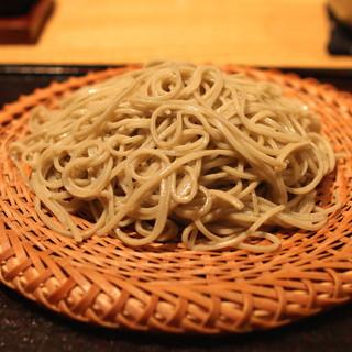 勢揃坂 蕎 ぎん清 - もり蕎麦 (2015/06)