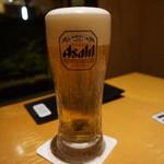 高田屋 - 生ビール(480円)