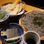 高田屋 - 海老天せいろ(1,560円)