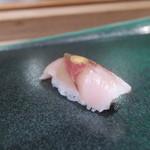 越乃 - 鯛の昆布〆