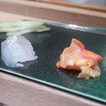 越乃 - マコガレー、赤貝