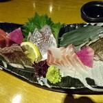 海鮮おどりや市場 - おどりや造り5種盛り