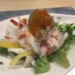 39162738 - 【サラダ】様○カニみそサラダ様、大将に聞くとこれだけ食べたいという客がいるくらい!?