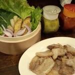パッチギ - 野菜を食べるサムギョプサル(2015年)