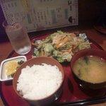 お食事処 ゆき - 野菜炒め定食 850円