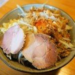 麺道 くろとん - 汁なしG麺