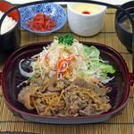 寄路地 - 料理写真:飛騨牛しぐれ煮膳 1,320円(税込