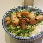 らーめん おおはし - ミニチャーシュー丼(350円)