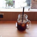 Caffice - アイスコーヒー(飲みかけ)