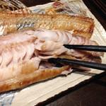 魚大将 うまかっぺや - しまホッケ焼き、肉厚で美味しい