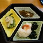 Ajigogorosakasegawa - 小皿3種盛り