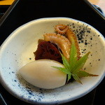 Ajigogorosakasegawa - 炊き合わせ
