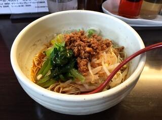 めだかタンタン - 汁なし担担麺