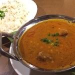 印度料理 プルワリ - ダルゴッシュ+ズィラライス