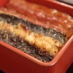 39175522 - 江戸生鰻樺焼(えどうまれうなぎのかばやき)、皮(かは)