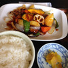 あじ彩 - 料理写真:酢豚みたいな定食