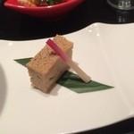 39176077 - 【2015年04月】前菜:鶏の松風焼き。