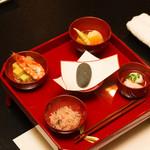 日本料理ほり川 - お食い初めセット
