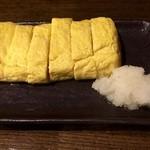 本陣串や - 出汁巻き卵焼き、とても美味しかったです。