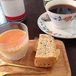 カメイノ食堂 - 惣菜4種のデザート