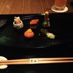 日本料理「雲海」 - 先付