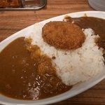 麹町咖喱 - ハーフ&ハーフカレー大盛り500円