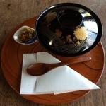 うい庵 - 白玉ぜんざい・冷(450円)