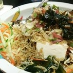 長寿庵 蕎匠 - 蕎麦サラダ