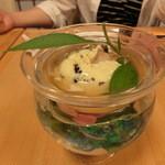 八沢川 - 祇園豆腐800円