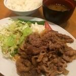 39183615 - 焼肉定食950円