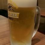 雲龍 一包軒 錦糸町テルミナ店 - 生ビール(550円外)