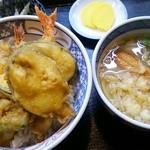 めん処・ふくなが - 料理写真:天丼セット