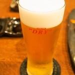 馬肉ダイニングポニーテイル - 生ビール